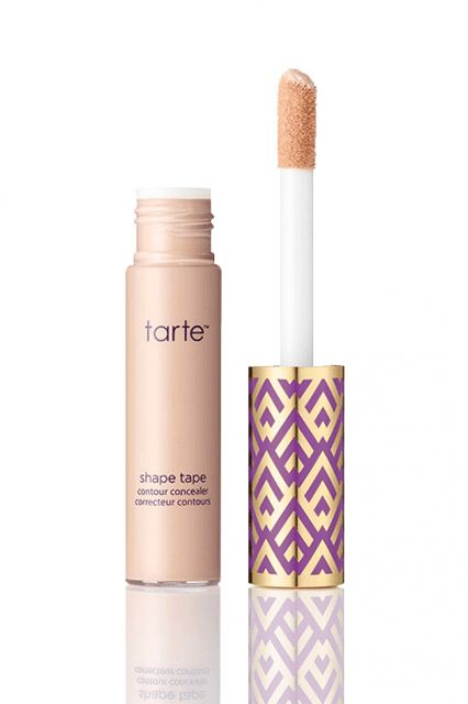 Tarte Shape Tape Concealer Tarte's Shape Tape Concealer is one of those items Ulta just can't seem to keep in stock. Although it's on the thicker side, the formula gives a completely natural finish that sinks in and looks like skin. Not only that, the smallest amount (a few dots under the eyes and around the nose) is enough.