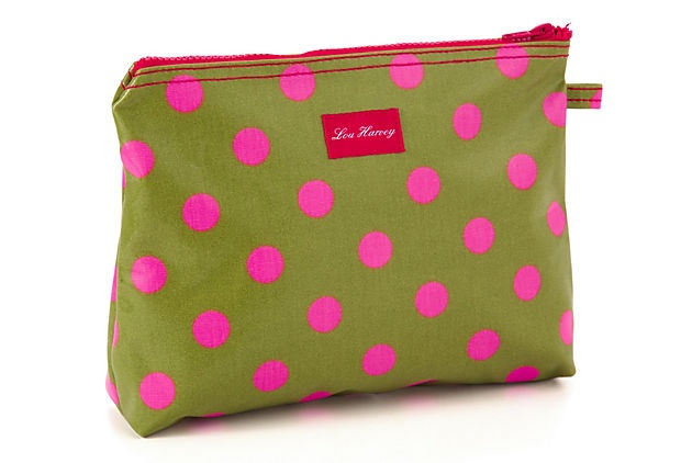 Large Lou Harvey Bag, Dot Green on OneKingsLane.com JACARANDA LIVING