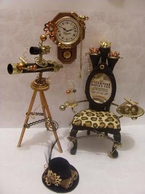 Lindas Miniature Musings: New stock for Sprocketts Steampunk Emporium :D