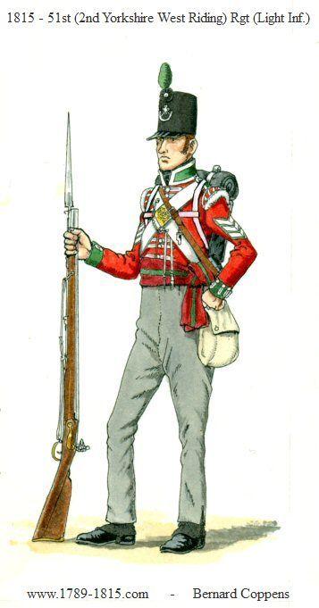 Fuciliere del 51 rgt. fanteria leggera inglese