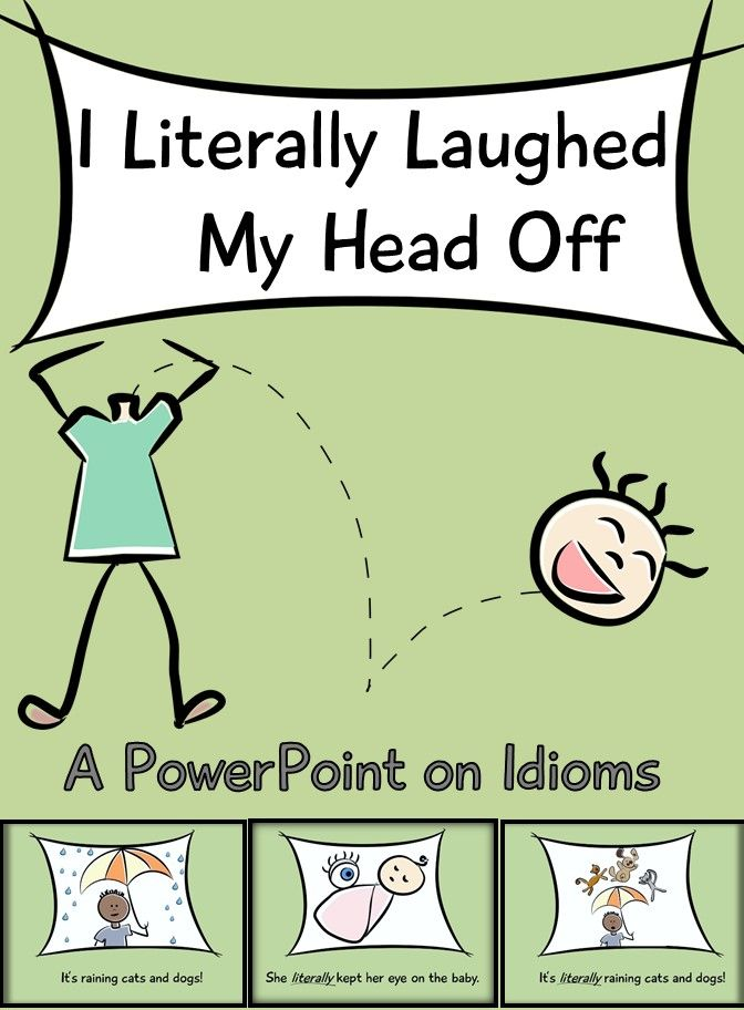 Idiom PowerPoint (Idiom Worksheet Included)