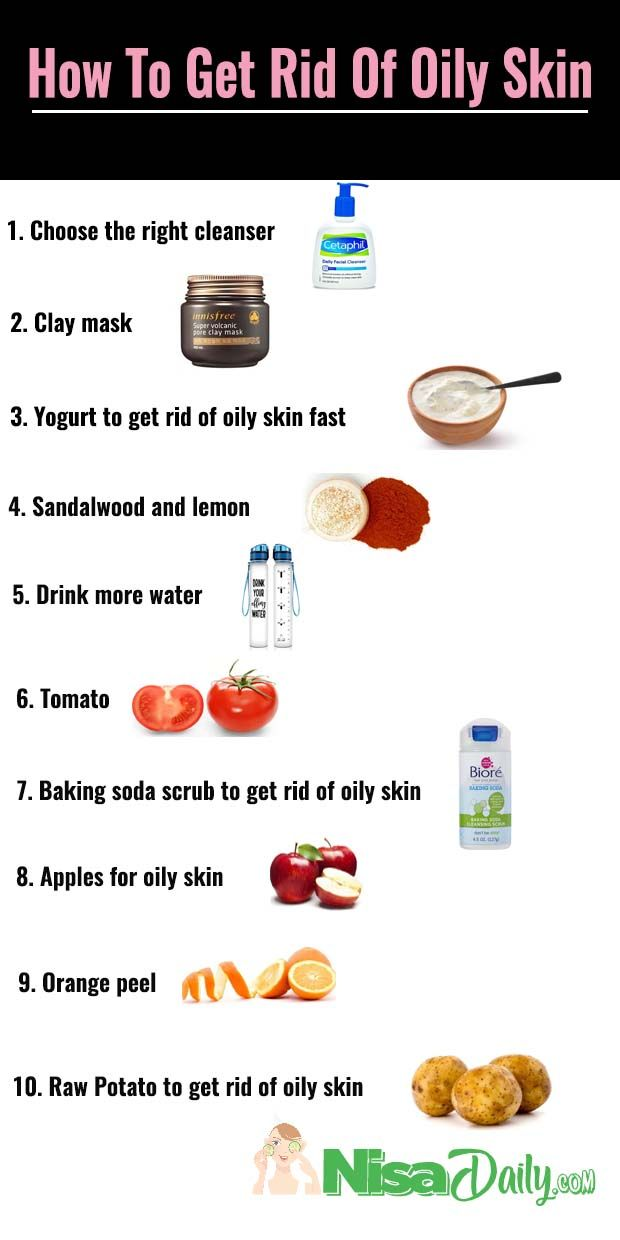 How To Get Rid Of Oily Skin Diy At Home For The Face Oily Skin Remedy Oily Skin Care Routine Face Skin Care