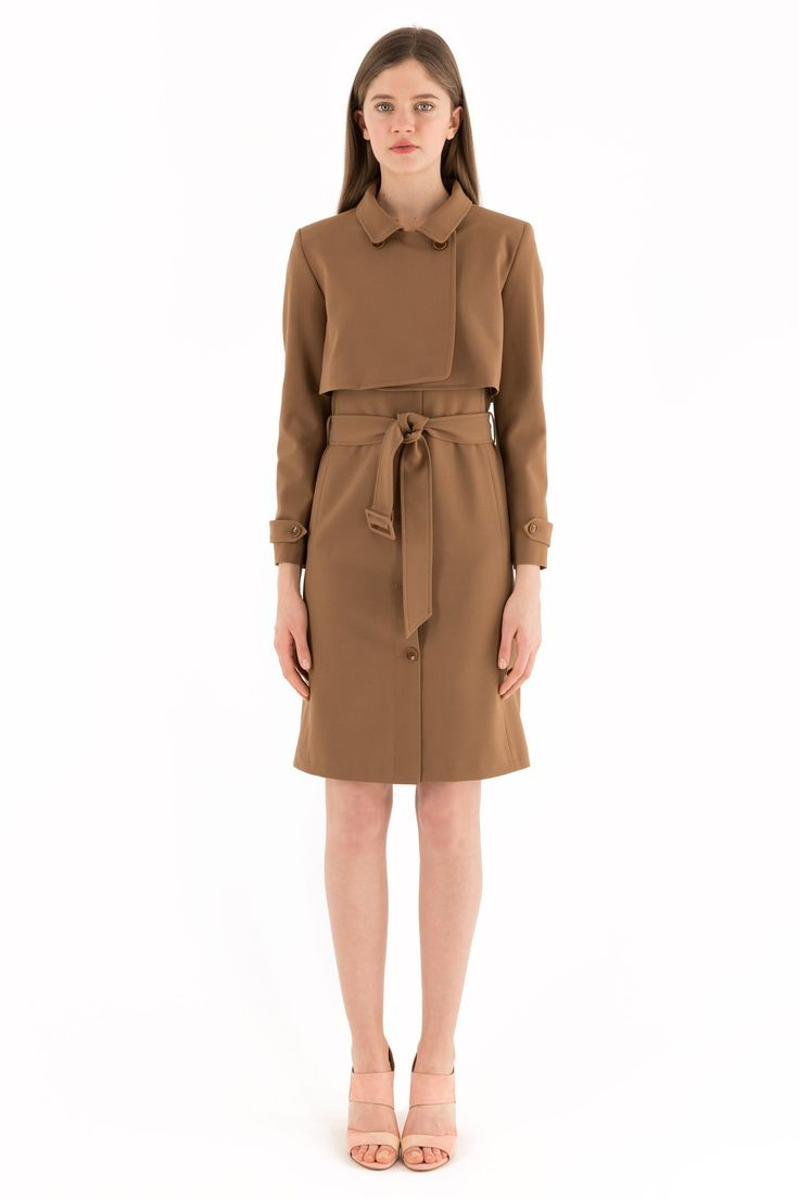 Dress - trench suit