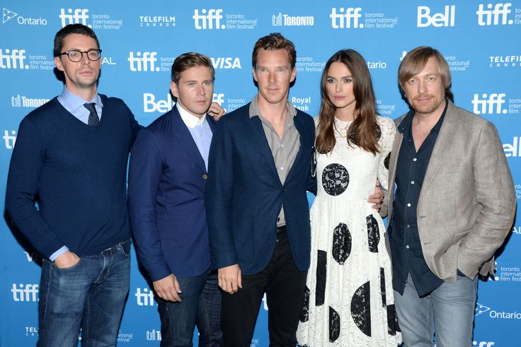 2014 09 09 - Toronto - TIFF ' The Imitation Game ' Press Conference And Photocall - by Evan Agostini (3000×2003)