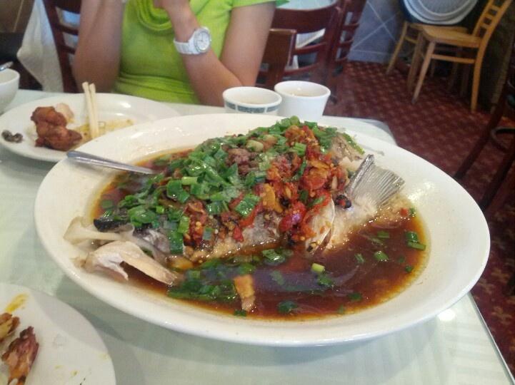 super delicious spicy fish head