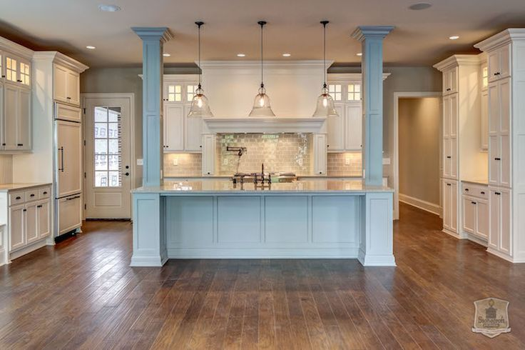 Bell Jar Lanterns, Transitional, kitchen, Stonecroft Homes