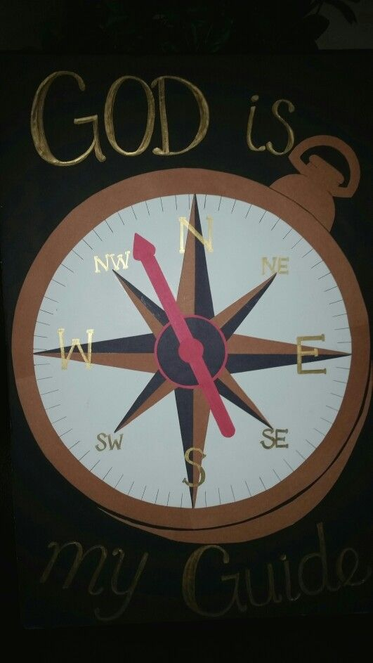 Compass Quot God Is My Guide Quot Vbs 2015 Pinterest God Is