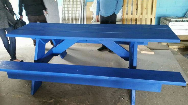 10 seater picnic table