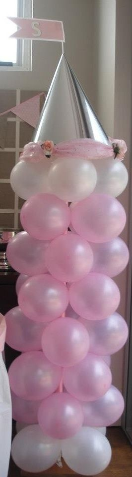 Princess tower.. A great decoration for a princess party