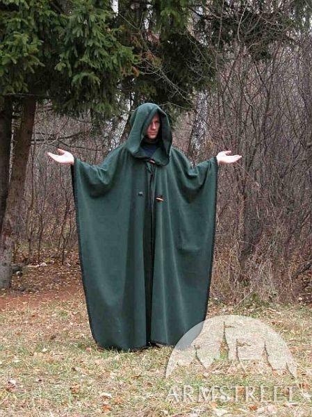 Questo mantello è il perfetto completamento per tutti i costumi medievali e GRV o di fantasia come Elfo o mago.