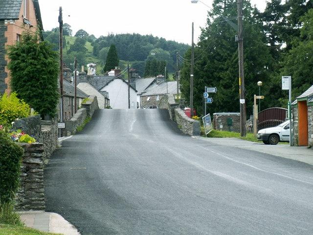 Llandrillo Village - North Wales www.rivercatcher.co.uk