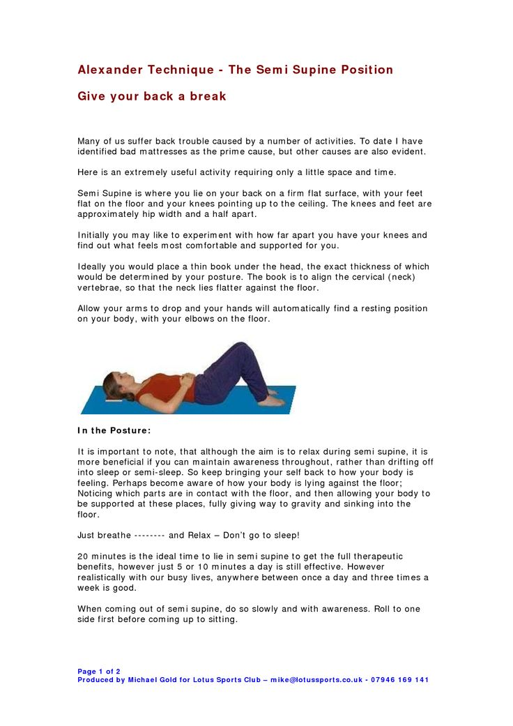 25+ best ideas about Supine position on Pinterest | Prone ...