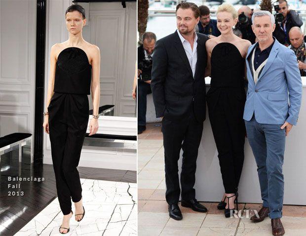 Carey in Cannes (in Balenciaga)
