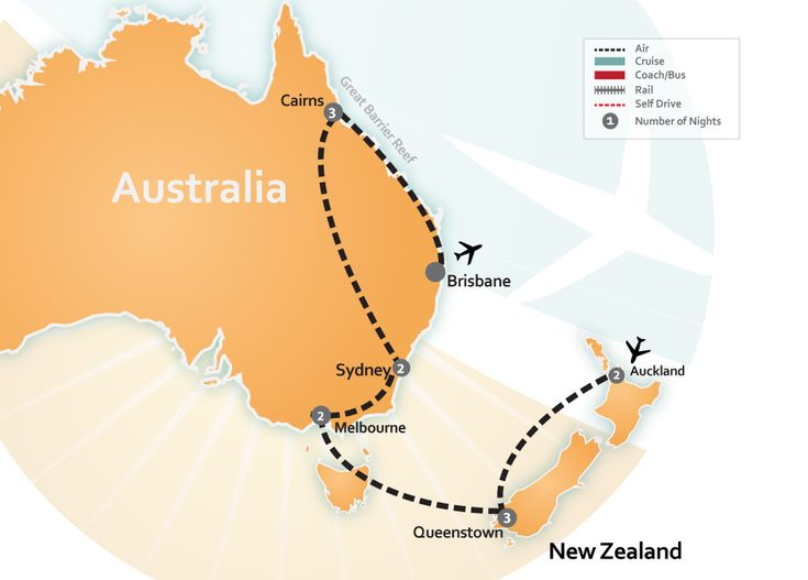 Australia and New Zealand Vacation Packages | About Australia