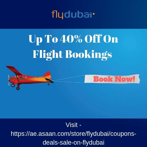 Flydubai Promo Code, Discount Code & Coupons For UAE July