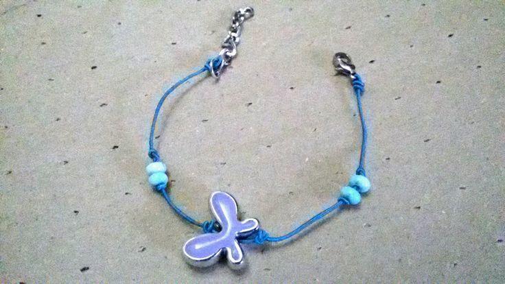 Butterfly bracelet #handmade