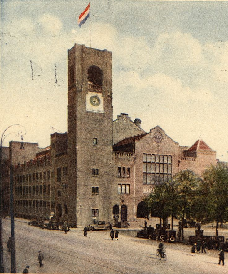Berlage, Amsterdam Commodities Exchange, 1903