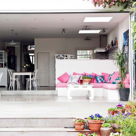 Open-plan living space | Modern kitchen extensions - our pick of the best | housetohome.co.uk