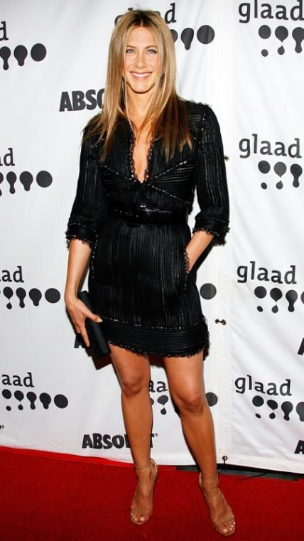 Jennifer Aniston's 32 Best Little Black Dresses Ever - April 14, 2007 - from InStyle.com