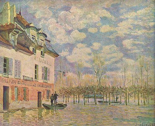 Landschaftsmalerei impressionismus  193 besten Alfred Sisley Bilder auf Pinterest | Painting ...