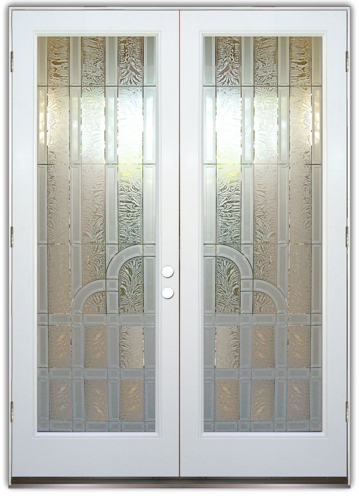 Berringer 3d Double Entry Doors Hand Crafted Sandblast