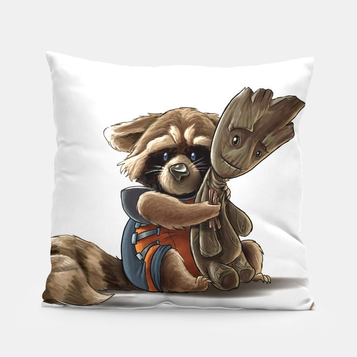 A simple yet stylish pillow designed by you and for you via Live Heroes