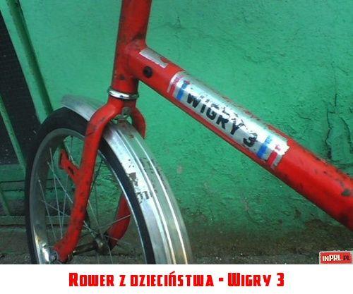 Rower z dzieciństwa - Wigry 3