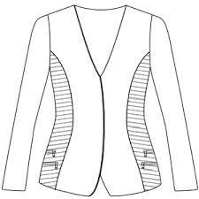 Resultado de imagen para patrones de chaquetas de mujer