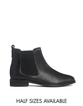 TOP OF THE LIST Enlarge ASOS AIRTIME Leather Chelsea Ankle Boots