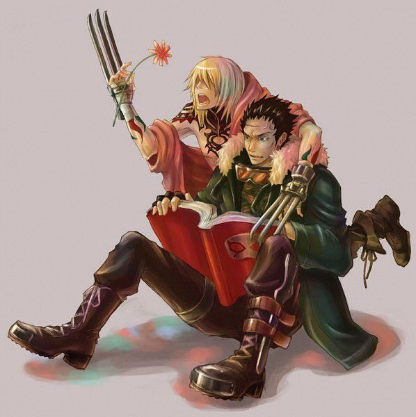 {Togainu no Chi} ~Gunji & Kiriwar~ To Be, Or Not To Be?