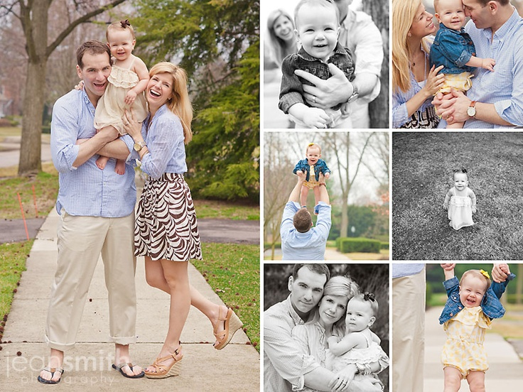 Fun collage with family photos.  Photography by http://www.jeansmithphotography.com