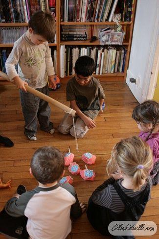 Fête d'anniversaire pour 4 ans   Ciloubidouille
