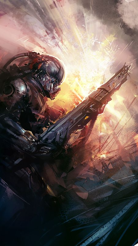 attack2 by Hamsterfly.deviantart.com on @deviantART #scifi #warfare