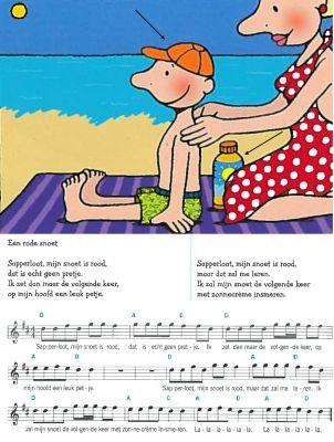 liedje een rode snoet zomer