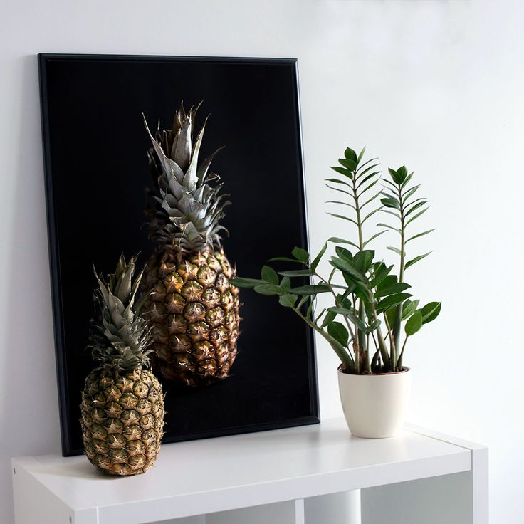 Pineapple | poster - Ainoa Graphic Design