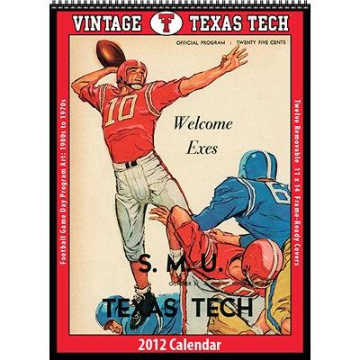 Vintage Texas Tech Calendar