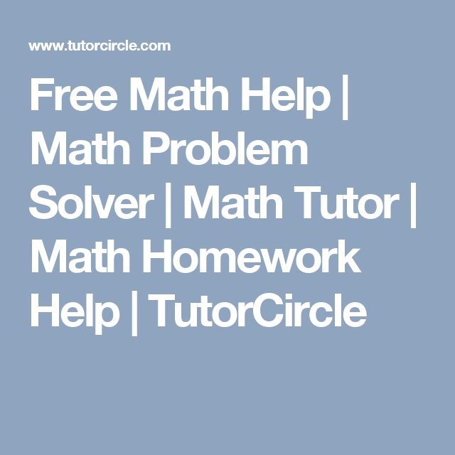 Math problem help + benefits