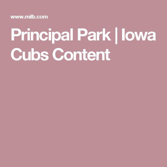 Principal Park   Iowa Cubs Content