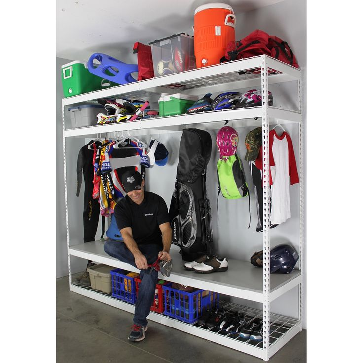 Best 25 Sports Equipment Storage Ideas On Pinterest