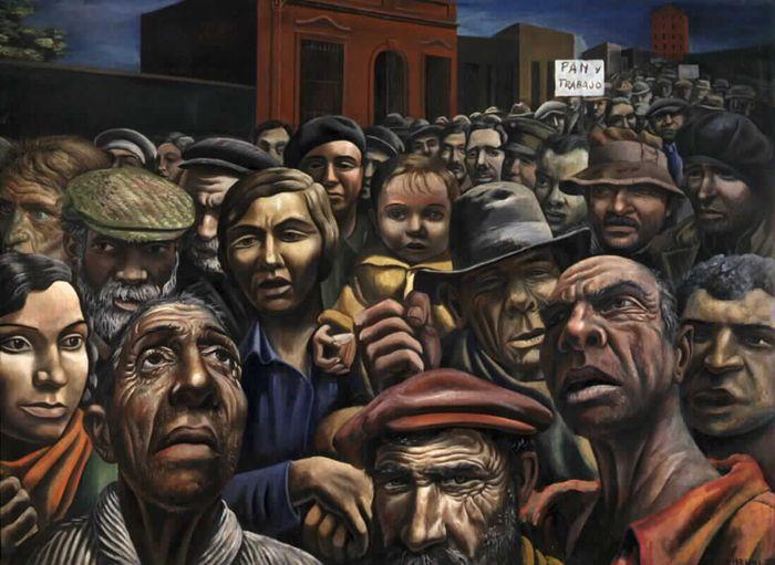 Antonio Berni - Manifestación (1934)