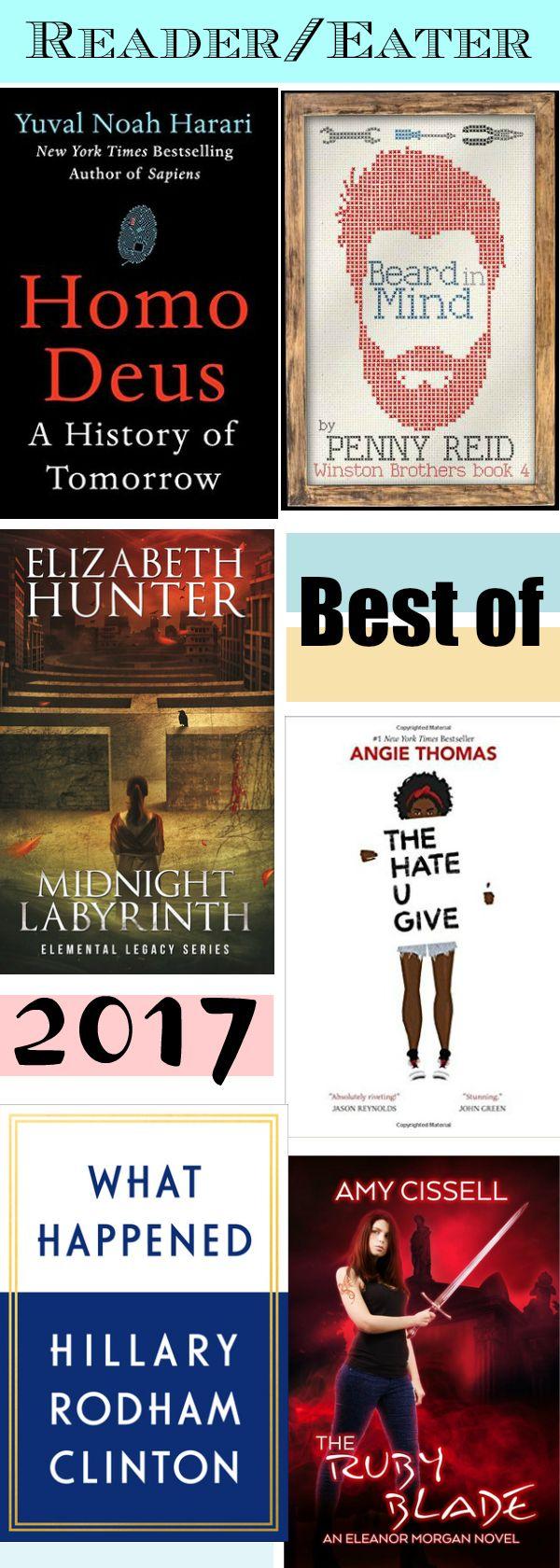 Reader/Eater's Best Books of 2017