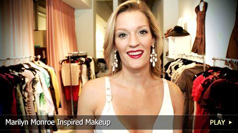 Marilyn Monroe bedroom/doe eye make-up tutorial