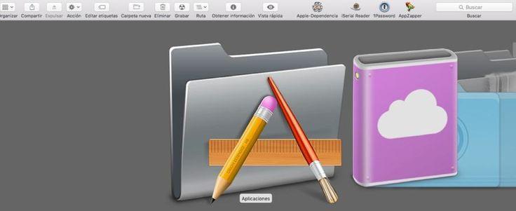 Truco Aplicaciones ventana Finder Mac OS X El Capitan, se trata de poner las aplicaciones que más usemos habitualmente en la ventana Finder