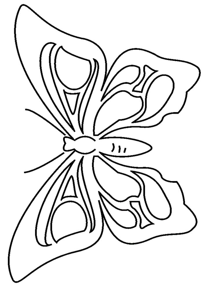 Butterflies fly to the right coloring pages for kids printable butterflies coloring pages for kids