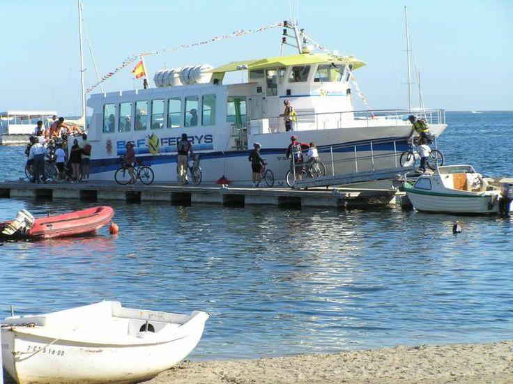 Este sábado y el segundo sábado de cada mes, travesía #gratuita en barco por el #MarMenor,  llegando al embarcadero de Santiago de la Ribera y regreso a La Manga. No pierdas la oportunidad e inscríbete aquí http://www.murciaturistica.es/es/turismo.evento_agenda?evento=M418829&utm_source=Pinterest&utm_medium=Redes%20Sociales&utm_campaign=Traves%C3%ADa%20en%20Barco%20San%20Javier