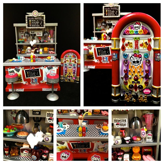 Monster High Die Ner Monster High Furniture Barbie Furniture Bratz By Ghoulsrule