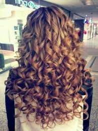 Image result for best length for spiral perm