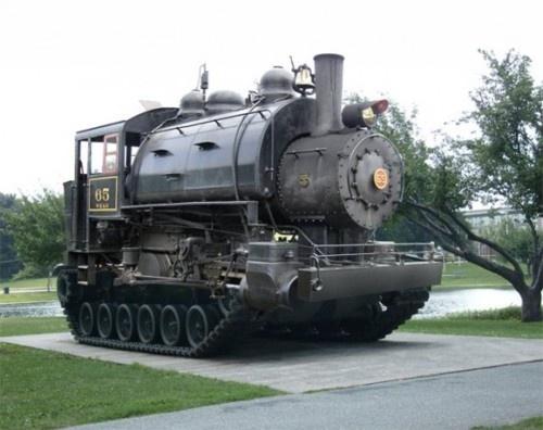 Train tank