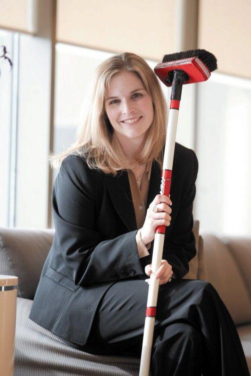 Jennifer Jones, my favourite curler of all time