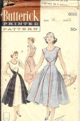 Butterick Walkaway Dress Pattern 6015